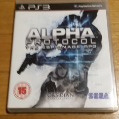 PS3 Alpha Protocol - joc original by WADDER