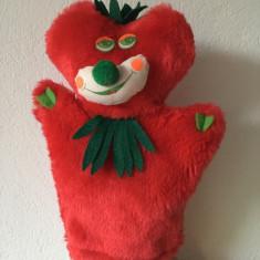 T- Marioneta teatru de papusi, papusa manuala tip manusa, capsuna