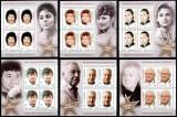 Romania 2016, LP 2129 b, Stele de aur II, blocuri de 4, MNH! LP 202,50 lei, Actori, Nestampilat