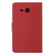 Husa Samsung Galaxy Tab A 7.0 inch 2016 - Tip Carte Magnetic Rosu