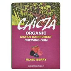 Guma de Mestecat cu Fructe de Padure Bio 30gr Chicza Cod: 619233