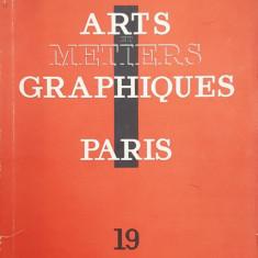 ARTS ET METIERS GRAPHIQUES , NO. 19 , QUINZE SEPTEMBRE , 1930, CONTINE LUCRARI DE DOUANIER ROUSSEAU , JEAN HUGO , GALANIS *