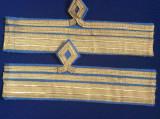 Efecte militare - Grade tip trese pentru mânecă - Căpitan comandor - Aviație
