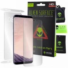 Folie Alien Surface HD, Samsung GALAXY S8 Plus, protectie ecran, spate,...