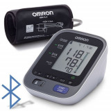Tensiometru electronic de brat Omron M7 Intelli IT HEM-7322T-E (Alb/Gri)