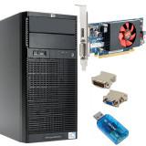 Calculator HP Proliant ML110 G6, Intel Core i3 550 3.2GHz, 4GB DDR3 ECC, ATI...
