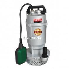 Pompa Submersibila Apa Curata cu Plutitor 750W Verk VSP32B