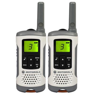 Resigilat : Statie radio PMR portabila Motorola TLKR T50 set cu 2 buc Alb foto