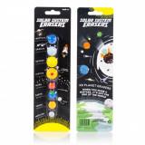 Set 8 radiere cu sistemul solar | Suck Uk
