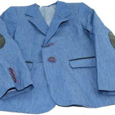 Sacou casual pentru baieti SEMINA SMM0527, Albastru