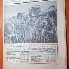 Revista radio-tv saptamana 28 septembrie- 4 octombrie 1980