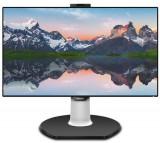 Monitor IPS LED Philips 31.5inch 329P9H/00, 4k UHD (3840 x 2160), HDMI, DisplayPort, Boxe, Pivot (Negru)