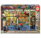 Cumpara ieftin Puzzle The Greatest Bookshop in the World, 5000 piese, Educa