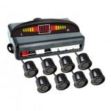 Set senzori de parcare fata-spate cu 8 senzori Best CarHome