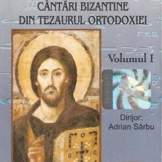 Caseta Byzantion Dirijor:Adrian Sârbu–Cântări Bizantine Din Tezaurul Ortodoxiei