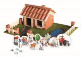 Cumpara ieftin Set constructie Brick Trick Casuta din caramidute ceramice