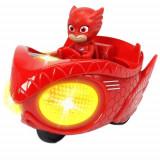 Masina Eroi in Pijama Mission Racer Owlette cu Figurina