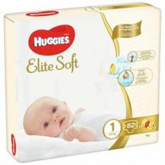 Huggies Elite Soft (nr 1) Mega 82 buc, 3-5 kg