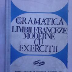 Gramatica limbii franceze moderne cu exercitii - V. PISOSCHI , G. GHIDU