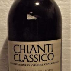 A84 -VIN CHIANTI CLASSICO DOC, FATTORIA DI TRASQUA, recoltare 1978 cl 75 gr 12,5
