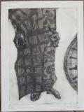 SUPERCONTEMPORAN – GRAVURA 3, Nonfigurativ, Cerneala, Altul