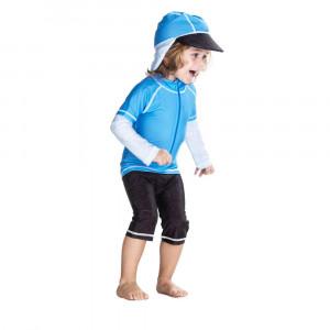 Costum de baie Blue Ocean marime 86- 92 protectie UV Swimpy for Your BabyKids