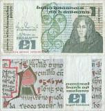 1989 ( 9 I ) , 1 pound ( P-70d.5 ) - Irlanda