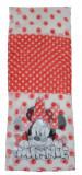 Esarfa pentru fetite Minnie Mouse-Sun City OE4044-A, Alb