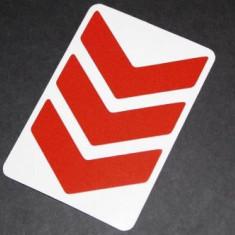 Sticker reflectorizant spate Curious Joe RXARROW, pentru Xiaomi Mijia M365 (Rosu)