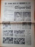 Sportul 6 august 1984-jocurile olimpice de la los angeles,fotbal f.c.m bacau