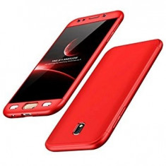 Husa Samsung Galaxy J5 2017, FullBody Elegance Luxury Red, acoperire completa...