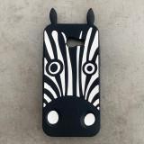 Husa silicon jucarie Samsung A5 2017 zebra