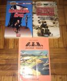 Lot 3 carti de Emil Strainu - Magicianul apei, Cutremurele, OZN