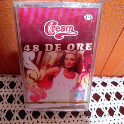 -Y- CASETA AUDIO CREAM - 48 DE ORE - SIGILATA - RARA ! foto