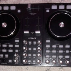 Consola mixer DJ TECH I-MIX RELOAD BLACK Digital Mix Without audio interface
