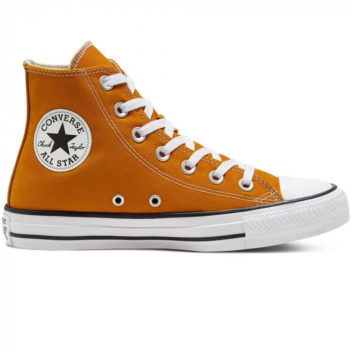 Shoes Converse Chuck Taylor All Star Hi Saffron Yellow
