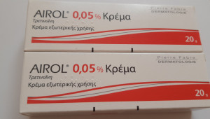 TRETINOIN 0.05% Airol Retin A Retinol Riduri Acnee