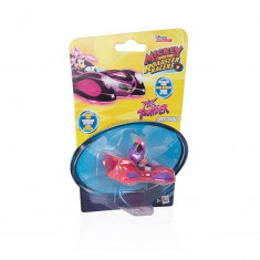 Jucarie Mickey Racers Super Charged Pink Thunder