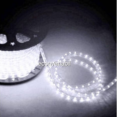 Furtun Luminos 100m 2600 LEDuri Alb Rece CL