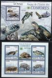 Ins. COMORE 2009, Fauna - Broaste testoase, MNH