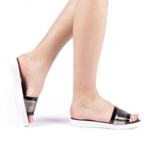 Papuci dama Minoda gri