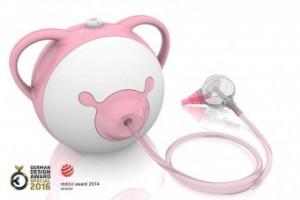 Aspirator nazal electric Nosiboo Pro Pink
