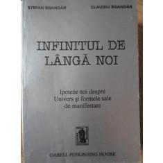 INFINITUL DE LANGA NOI. IPOTEZE NOI DESPRE UNIVERS SI FORMLE SALE DE MANIFESTARE-STEFAN SGANDAR, CLAUDIU SGANDAR