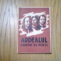 ARDEALUL CANTAT DE POETI - Matei Alexandrescu - Biblioteca Politica, 1943, 167p.