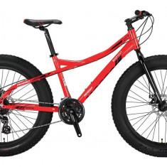 """Bicicleta Mosso Fat Bike 2D , roata 26"""" , Aluminiu, culoare RosuPB Cod:M01MSO2601517002"""