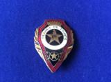 Insignă militară - Insignă Fruntaș - Evidențiat - Transmisionist de Frunte - RPR