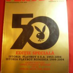 Editie speciala 50 Ani Playboy -Istoria Playboy in SUA si Romania
