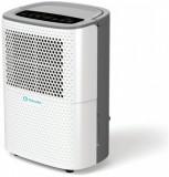 Dezumidificator AlecoAir D12 HOME, 12 l/zi, Debit 120 mc/h, Pentru spatii de pana la 18 mp, Display digital, Timer, Higrostat, Functie uscare rufe