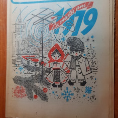 revista radio tv  saptamana 31 decembrie 1978-6 ianuarie 1979-nr de anul nou
