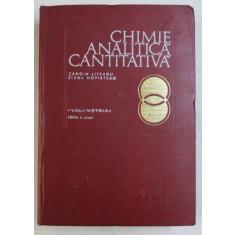 CHIMIE ANALITICA CANTITATIVA Ed. a VI a de CANDIN LITEANU , ELENA HOPIRTEAN